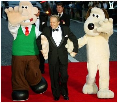 Wallace and Gromit appear at the premiere of their 2005 feature - CURSE OF THE WERE RABBIT.  sc 1 st  Costume Characters & Costume Characters